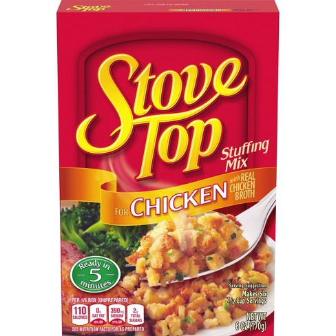 Stove Top Stuffing Mix For Chicken 6oz - image 1 of 4