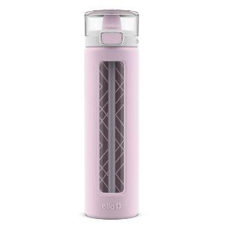 Ello 20oz Glass Spencer Water Bottle Pink
