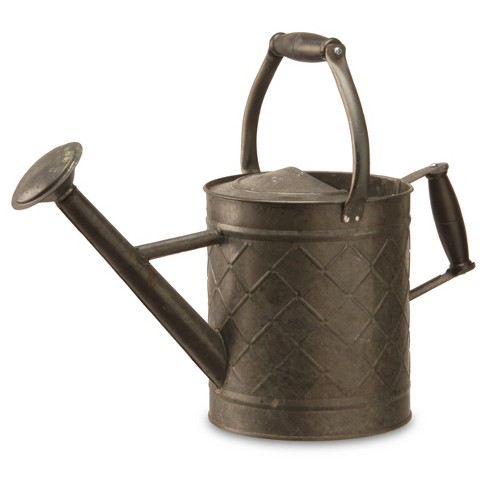 garden accents antique watering can black 12 national tree company - Garden Watering Can