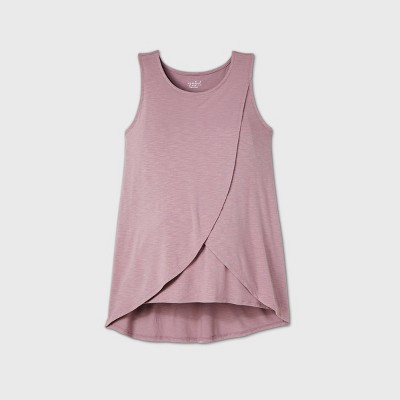 Maternity Tulip Nursing Tank Top - Isabel Maternity by Ingrid & Isabel™ Purple M