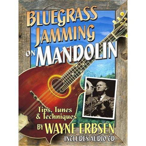 Bluegrass Jamming on Mandolin Book/CD Set - by  Wayne Erbsen (Hardcover) - image 1 of 1