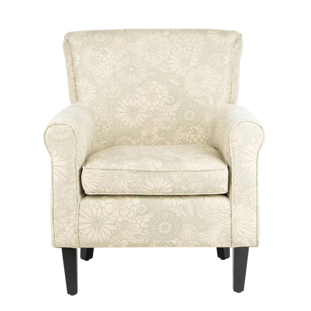 Hazina Arm Chair Mist - Safavieh, Off White