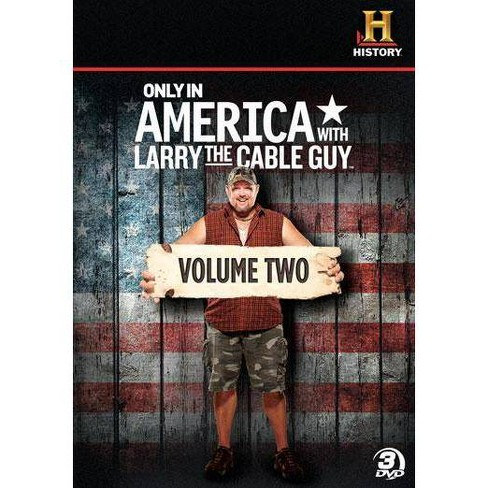 Only In America With Larry The Cable Guy: Volume 2 (DVD) - image 1 of 1