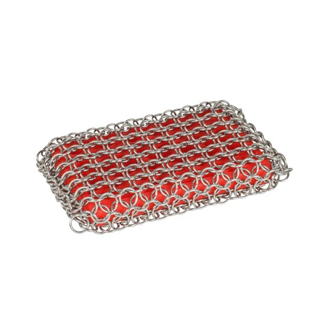 Lodge Chainmail Scrubber Red - image 1 of 3