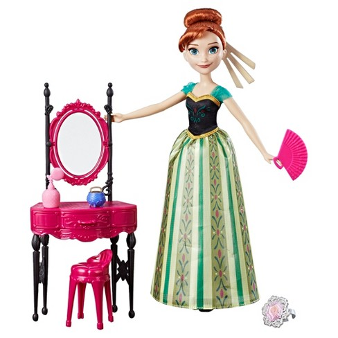 Disney Frozen Anna and Coronation Vanity - image 1 of 2