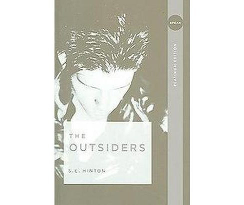 The Outsiders (Paperback) by S. E. Hinton - image 1 of 1
