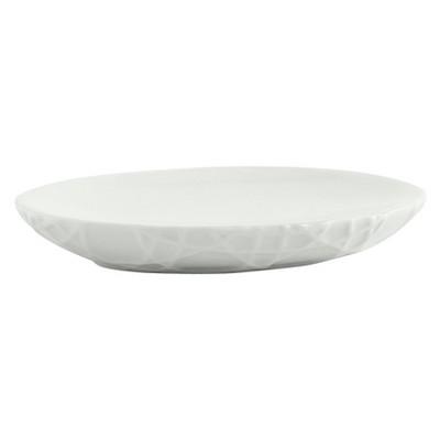 Wicker Soap Dish White - Cassadecor