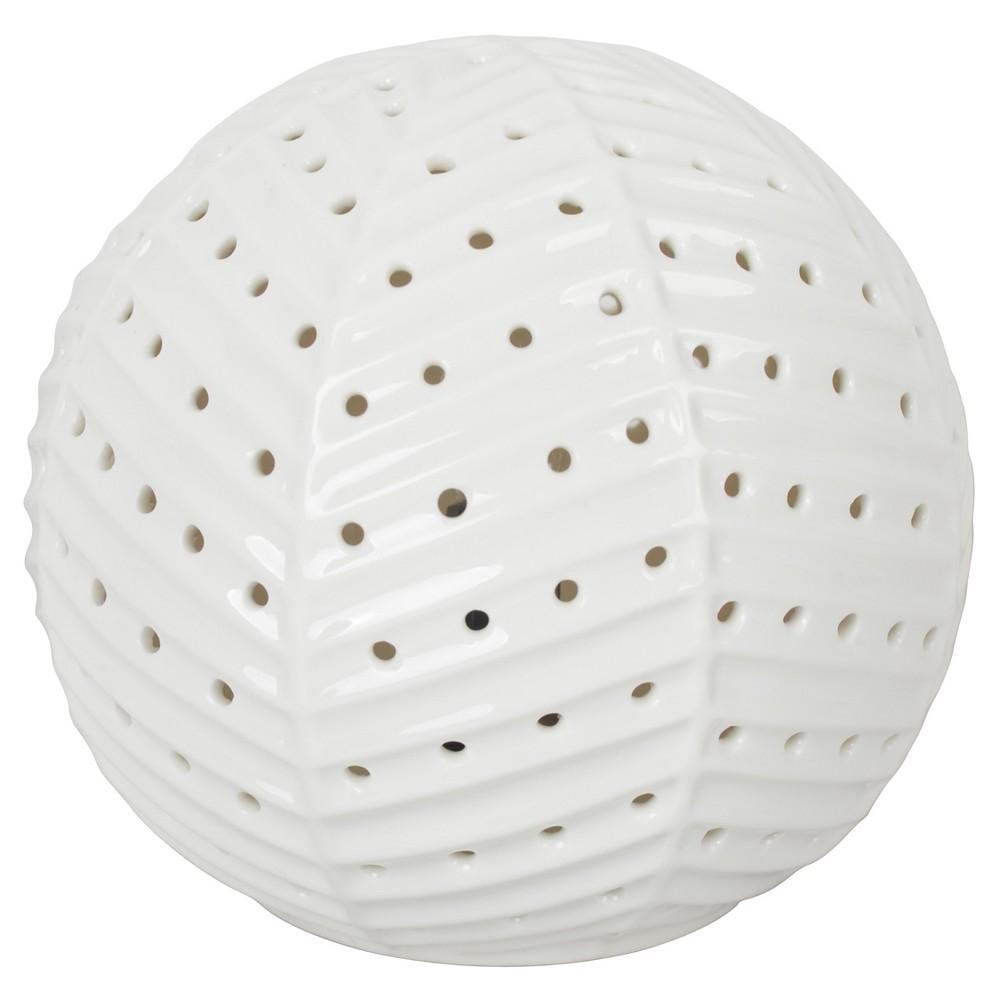 Image of Herringbone Sphere Nightlight - Pillowfort