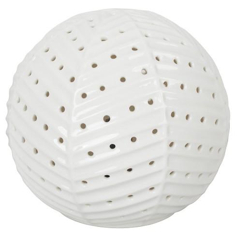 Herringbone Sphere Nightlight - Pillowfort™ - image 1 of 3