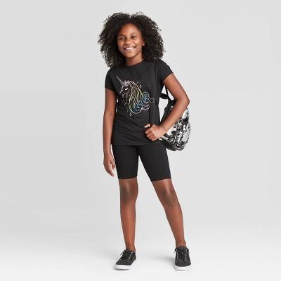 Girls' Mid-Length Bike Shorts - Cat & Jack™