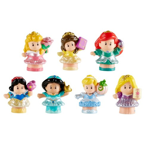 Fisher-Price Little People Disney Princess Doll 7-pk - image 1 of 11
