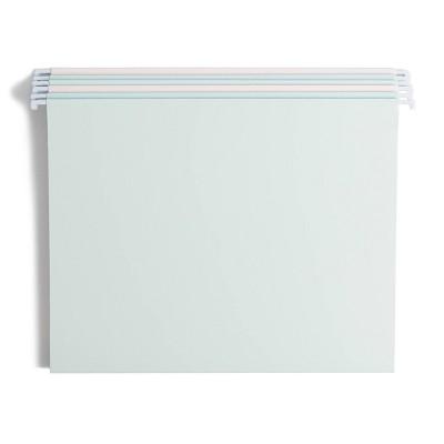 U Brands 6ct Hanging File Folders Pastel