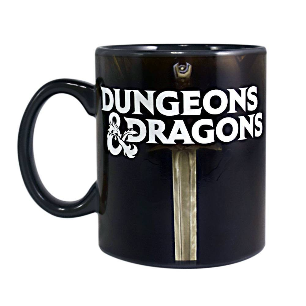 Image of Dungeons & Dragons Heat Change Coffee Mug