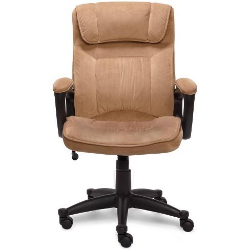 Executive Chair Velvet Microfiber - Serta - image 1 of 4