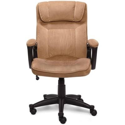 sc 1 st  Target & Executive Chair Velvet Microfiber - Serta : Target