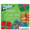 Ziploc Limited Edition Holiday Container - Red - Medium Square - 3ct - image 2 of 4