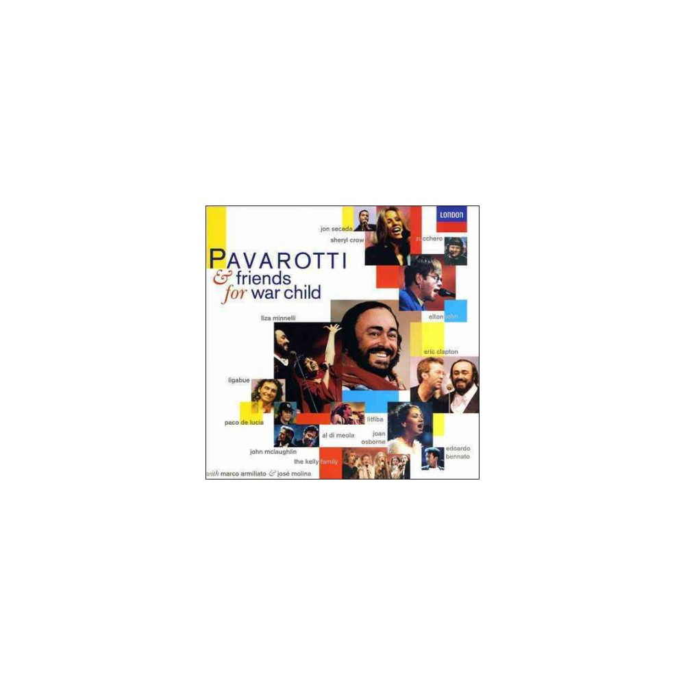 Luciano Pavarotti - Pavarotti & Friends For War Children (CD)