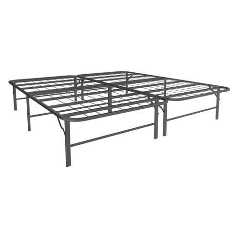 Room & Joy King Metal Platform Bed Frame And Mattress Foundation ...