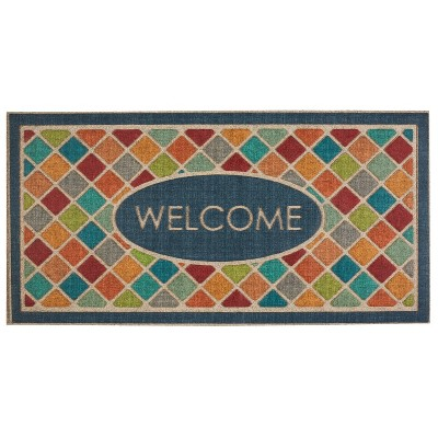 2'x4' Ornamental Entry Mat Crosshatch - Mohawk