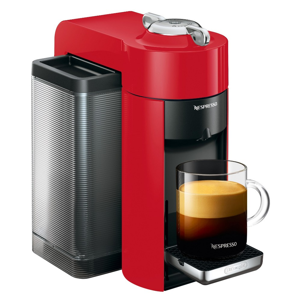 Nespresso Vertuo Coffee and Espresso Machine Red by De'Longhi 52208965