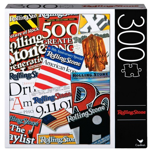 Cardinal Rolling Stone Iconic Covers Puzzle 300pc - image 1 of 2