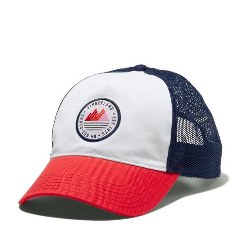 Timberland Women's Mountain-Logo Trucker Hat - image 1 of 4