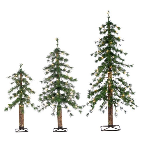 About this item - 2ft, 3ft, 4ft Pre-Lit Artificial Christmas Tree 3-p : Target