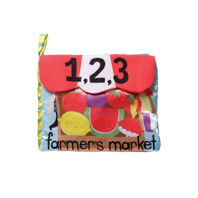 The Manhattan Toy Company Farmer's Market Soft Activity Book Baby Toy
