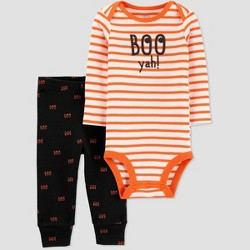Baby Halloween 'Boo Yah' Top and Bottom Set - Just One You® made by carter's