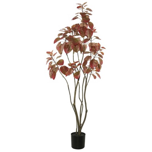 Artificial Rogot Rurple Tree with Pot (4ft) Red - Vickerman - image 1 of 3