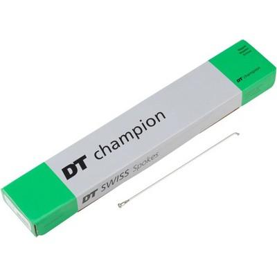 DT Swiss Champion 2.0 178mm Silver Spoke Bulk