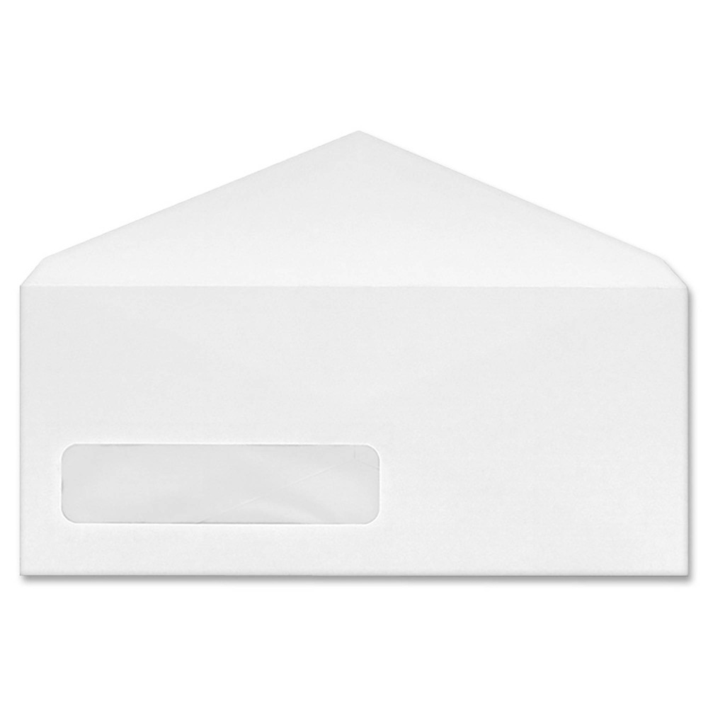 Image of Business Source 500ct No.9 V-Flap Window Display Envelopes