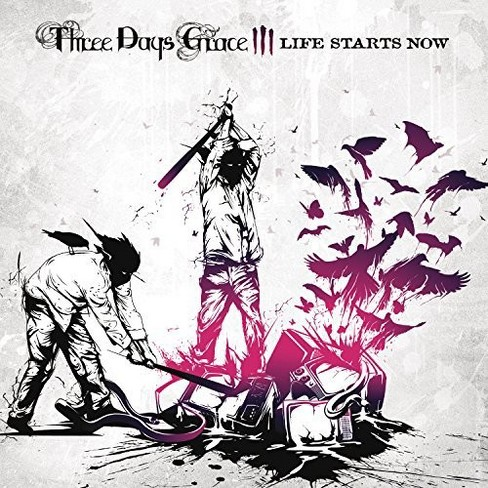 Three Days Grace - Life Starts Now (Vinyl) - image 1 of 1