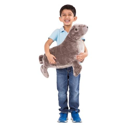 Melissa Doug Giant Sea Lion Lifelike Stuffed Animal Over 2