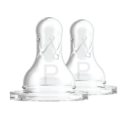Dr. Brown's Natural Flow Preemie Standard Bottle Nipples - 2pk