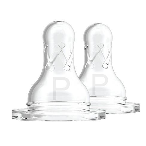 Dr. Brown's Natural Flow Preemie Standard Bottle Nipples - 2pk - image 1 of 3