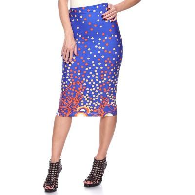 Women's Bailey Midi Skirt - White Mark