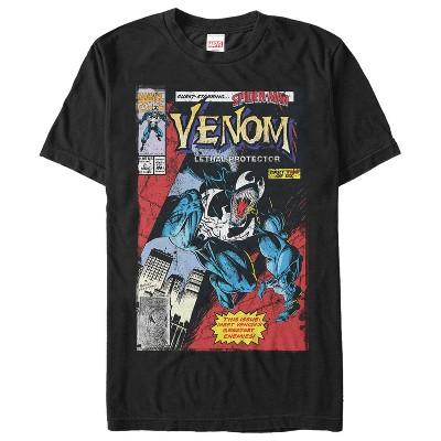 Men's Marvel Venom Lethal Protector Greatest Enemy T-Shirt
