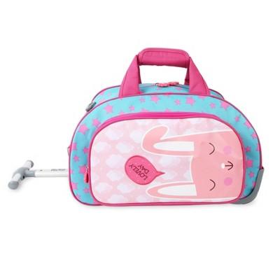 J World Space Kids' Rolling Duffel Bag