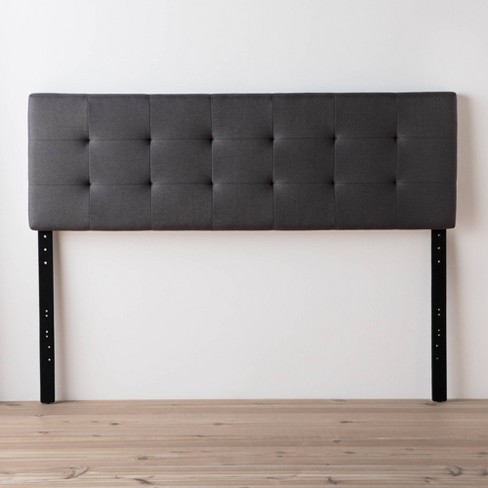 Emmie Adjustable Upholstered Headboard with Square Tufting - Brookside Bed - image 1 of 4