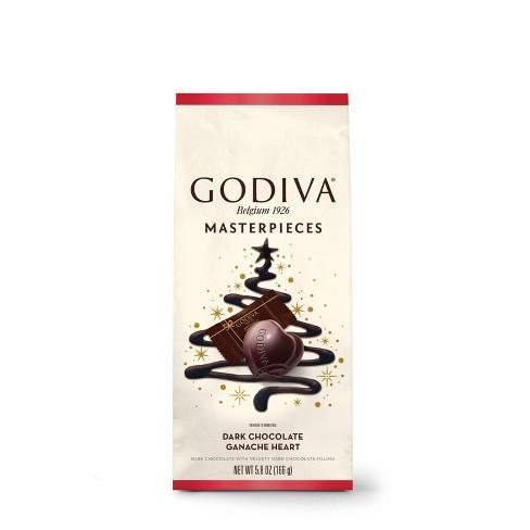 Godiva Masterpiece Holiday Dark Chocolate Ganache Heart - 5.3oz - image 1 of 3