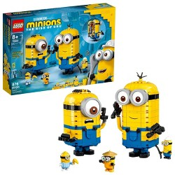 LEGO Minions 75551 Brick-Built Minions and Their Lair 876pc