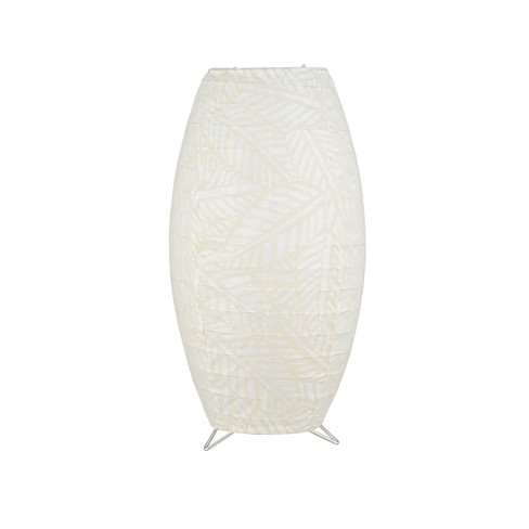 Paper Table Lamp Light Tan (Lamp Only) - Room Essentials™ - image 1 of 3
