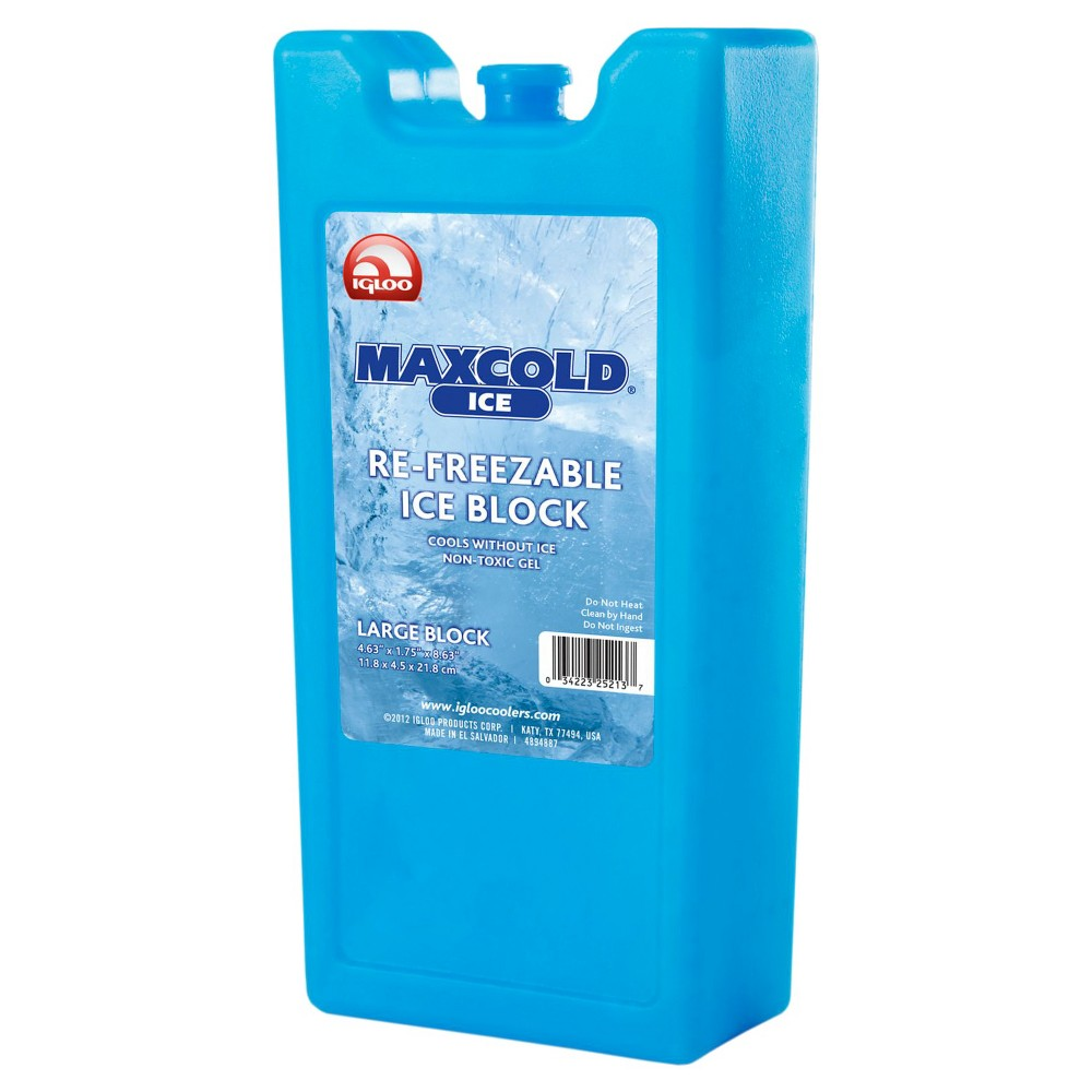 Image of Igloo MaxCold Refreezable Ice Block - Large