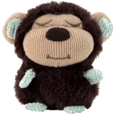 Animal Adventure Sleepy Heads Rattle - Monkey