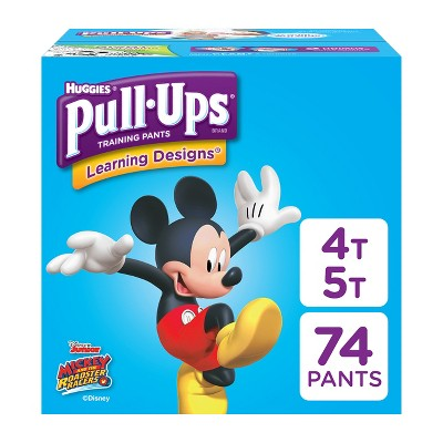 Huggies Pull-Ups Disposable Training Pants - 4T-5T (74ct)