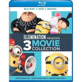 Illumination Presents: 3-Movie Collection (Blu-ray + DVD + Digital) : Target