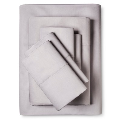 6pc Luxury Estate 1200 Thread Count Sheet Set (King)Silver - Elite Home