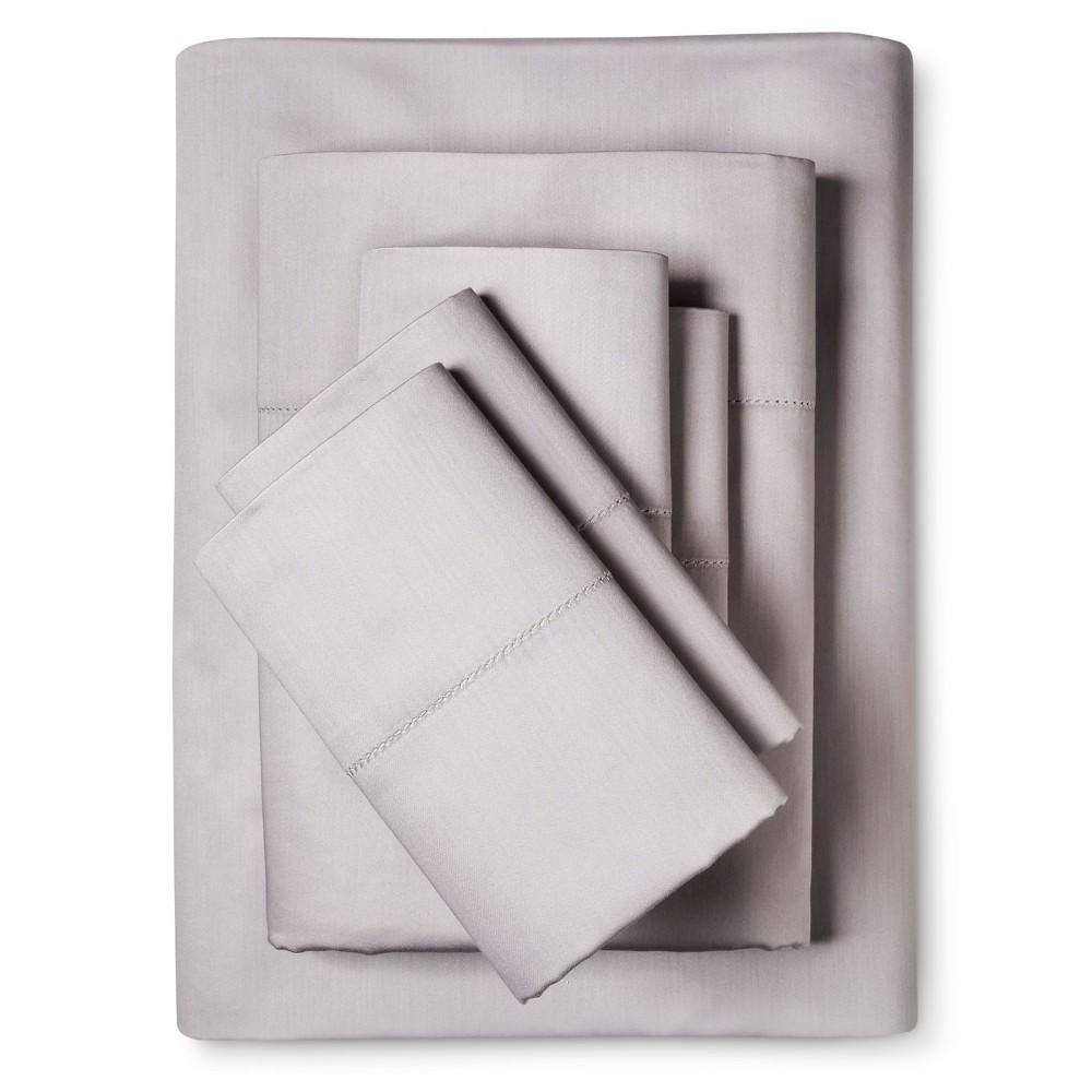 Luxury Estate 1200 Thread Count Sheet Set (King) Silver - Elite Home