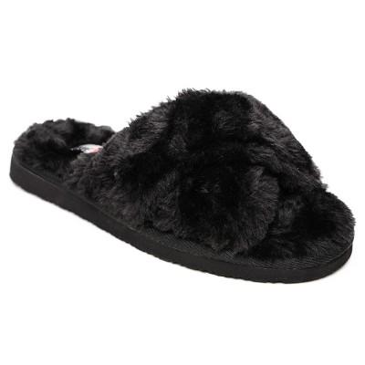 Minnetonka Women's Faux Fur Lilly Slide Slipper